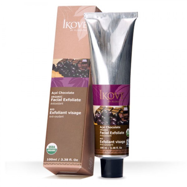 Esfoliante Facial de Açaí e Chocolate 100ml (IKOVE)