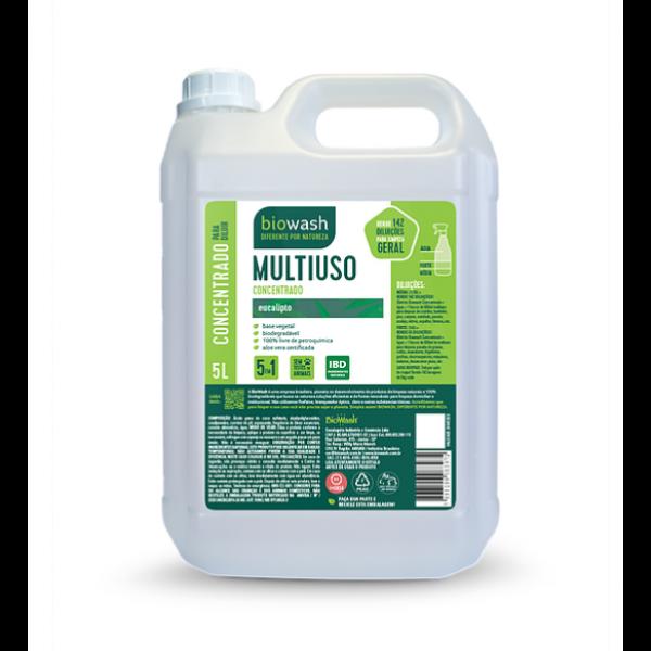 Multiuso concentrado eucalipto 5 litros Biowash