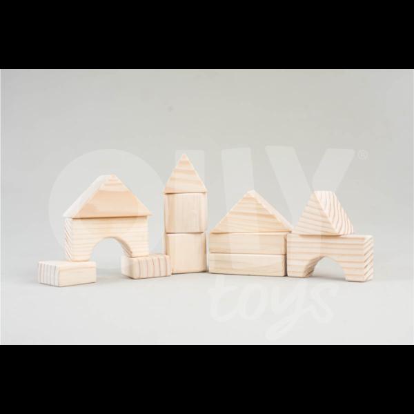Bloco Kit 15 unidades Olly Toys