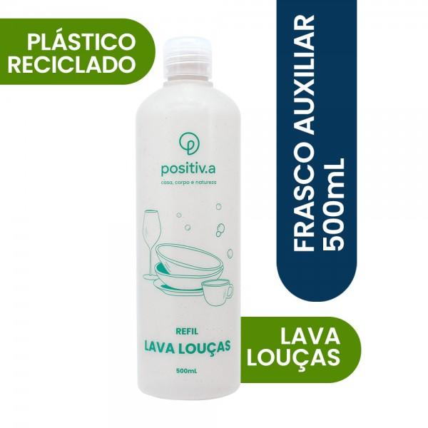 Frasco auxiliar lava louças 500ml - Oceano Limpo Positiva