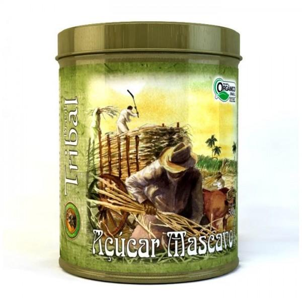 Açúcar Mascavo Orgânico - Tribal Brasil - Lata 500g