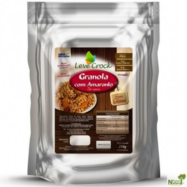 Granola Sem Glúten com Amaranto 250g