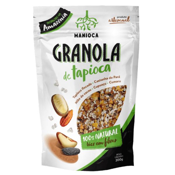 Granola Tapioca 200g – Manioca
