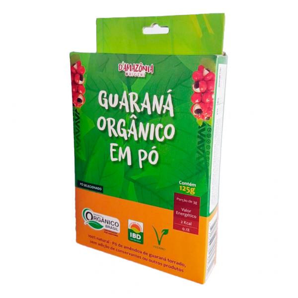 Guaraná em pó Orgânico – 125g – D'Amazônia Origens