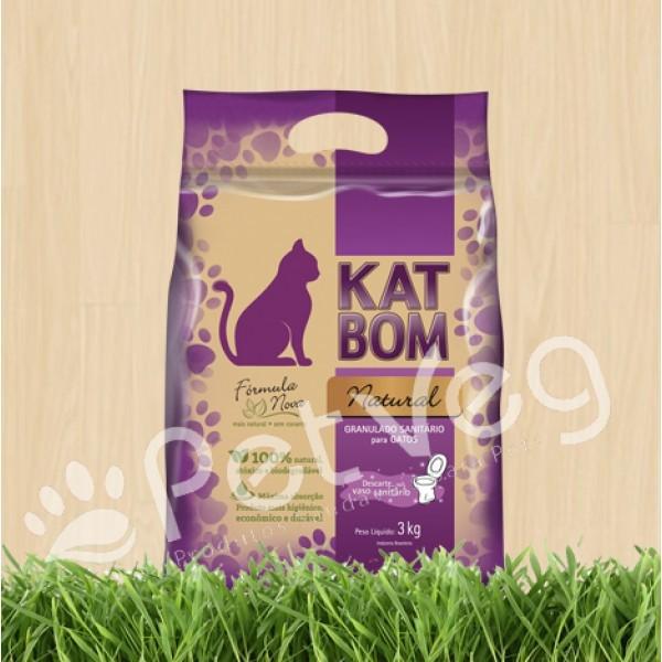Granulado Sanitário Biodegradável para Gatos - Natural