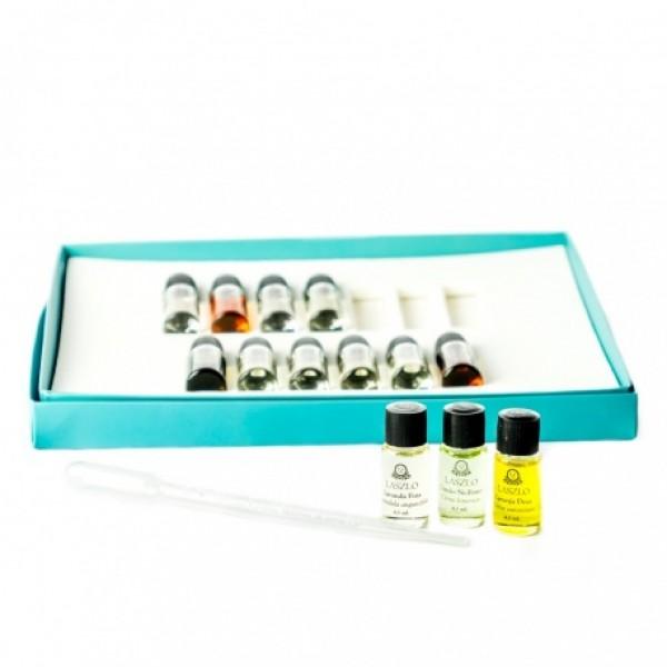 Kit 13 Aromas Laszlo com 13 óleos essenciais