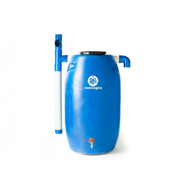 Kit Mini Cisterna 240l + Eco Filtro