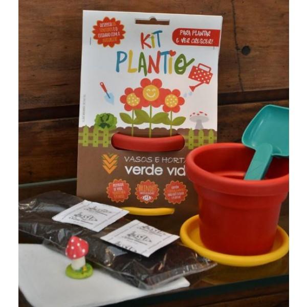 Kit de plantio (Verde Vida)