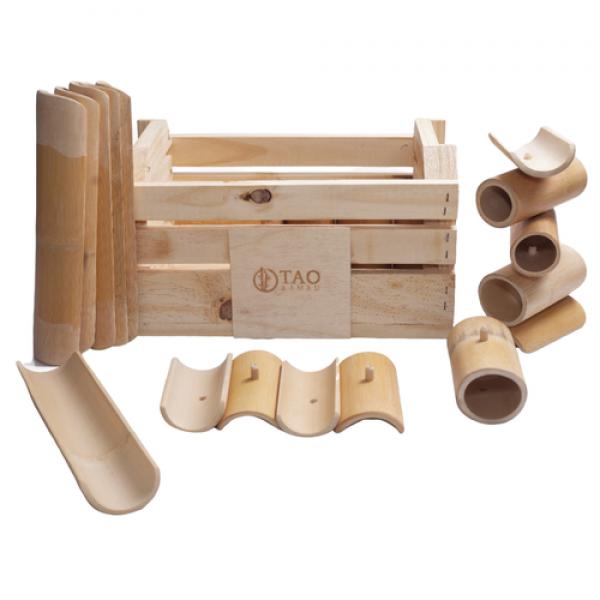 Kit Construção Sacola + Kit Criatividade Tao Bambu