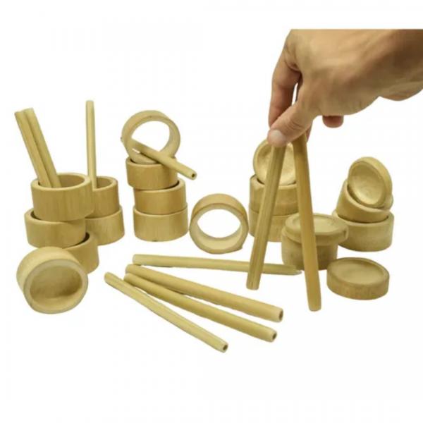 Kit Criatividade de Bambu Tao Bambu