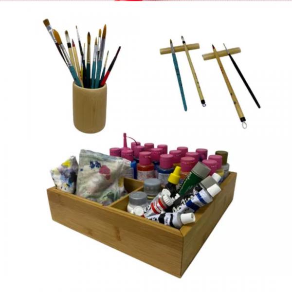 Kit Mare à mão pintura - Tao Bambu