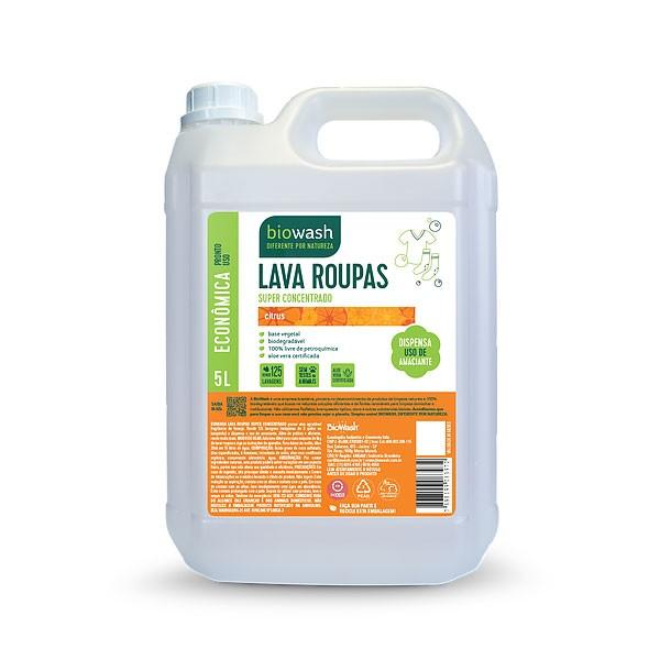 Lava-roupas concentrado 5 litros Biowash