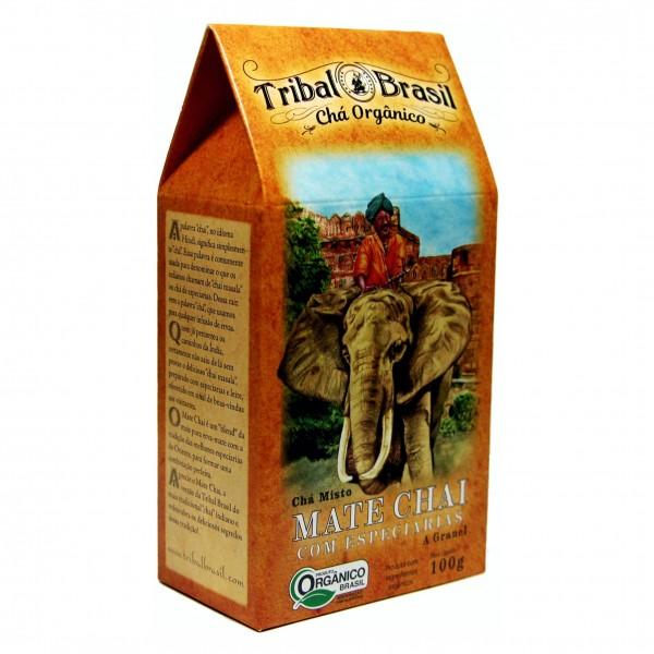 Chá Tribal Brasil - Chai - Caixa 100g