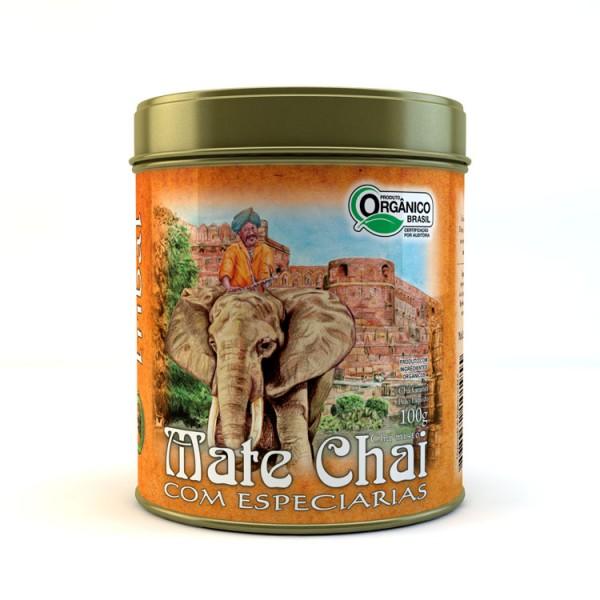 Chá Tribal Brasil - Chai - Lata 100g