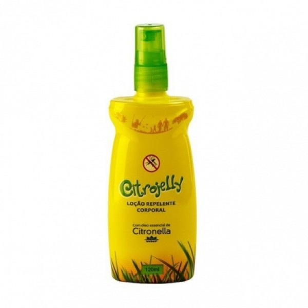 Loção Corporal Repelente Natural e Vegana Citrojelly 120 ml