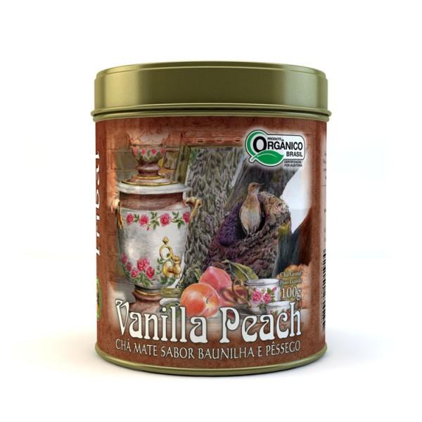 Chá Tribal Brasil - Vanilla Peach - Lata 100g