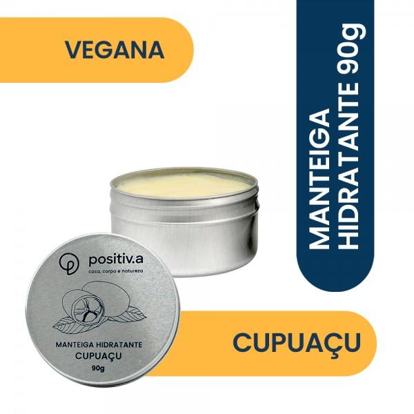 Manteiga Hidratante de Cupuaçu 90g Positiva