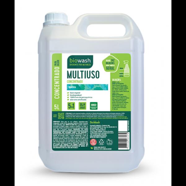 Multiuso Concentrado Menta BioWash - 5 Litros