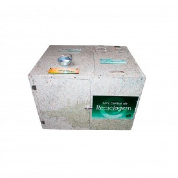 Mini central de reciclagem