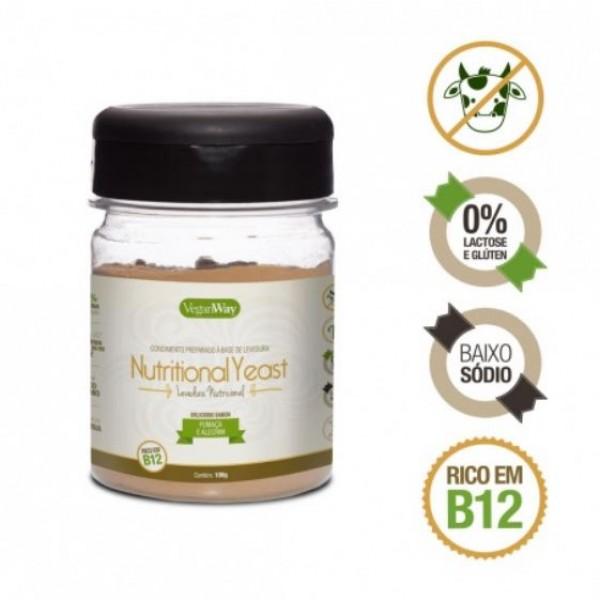 Nutritional Yeast Sabor Fumaça e Alecrim VeganWay 100g