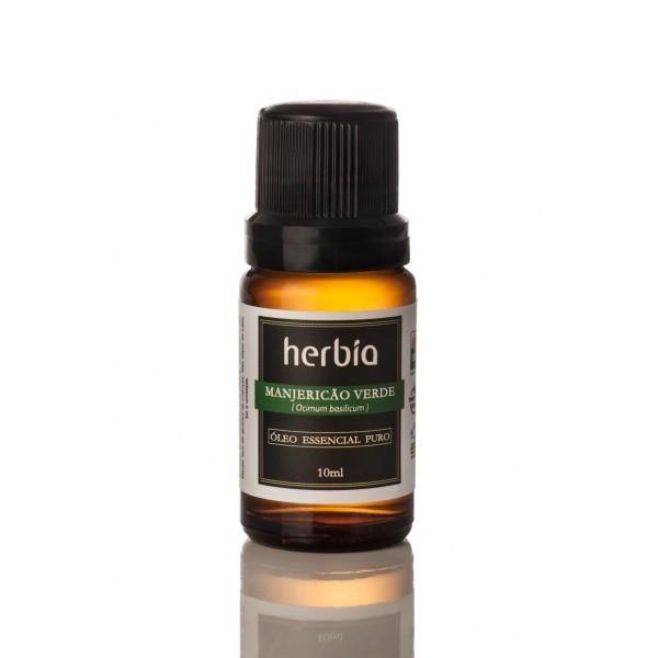 Óleo Essencial de Manjericão Verde 10 ml Herbia