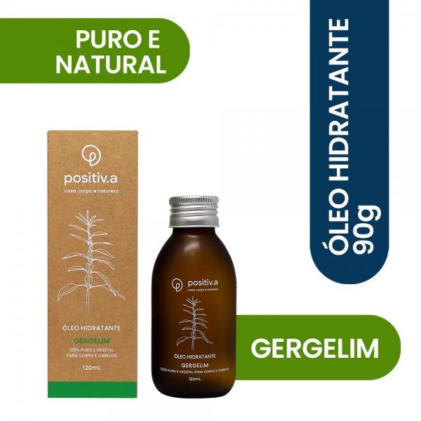 Óleo Hidratante de Gergelim 120ml Positiv.a