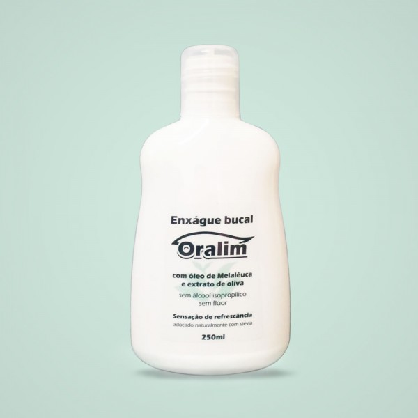 Enxágue bucal Oralim 250ml