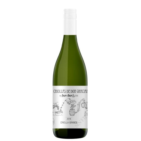 Vinho Natural Paso a Paso Blend de Criollas Blancas