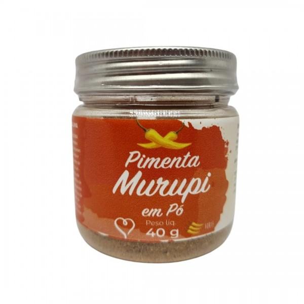 Pimenta Murupi em Pó – 40g – Terramazonia