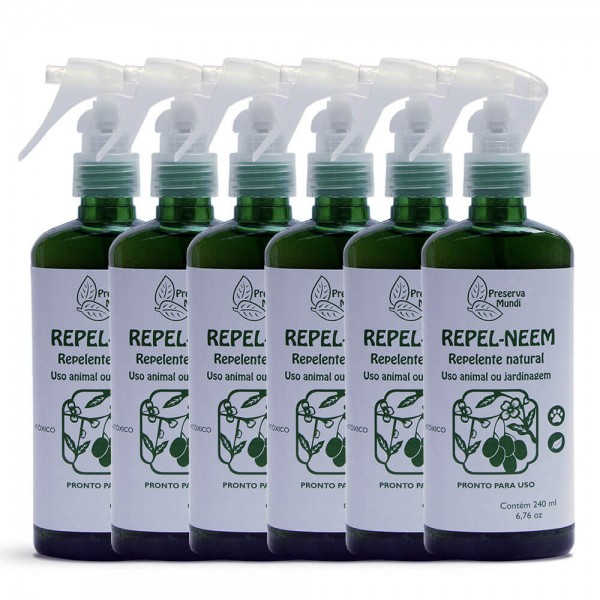 Repelente Neem 240ml - Uso Animal e Jardinagem (Pronto para uso)