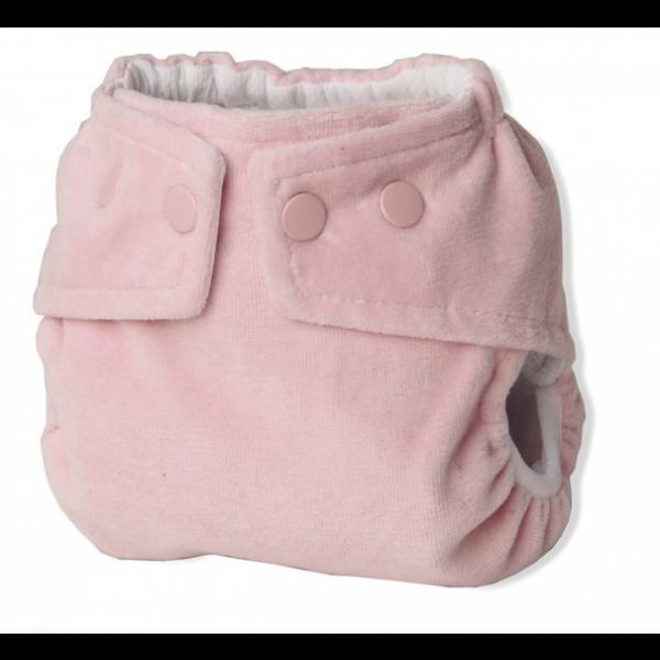 Fralda Ecológica Pequenitas Cover - Rosa bebê + Absorvente RN