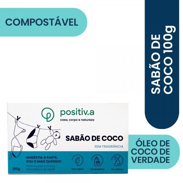 Sabão de Coco em Barra (Positiv.A)