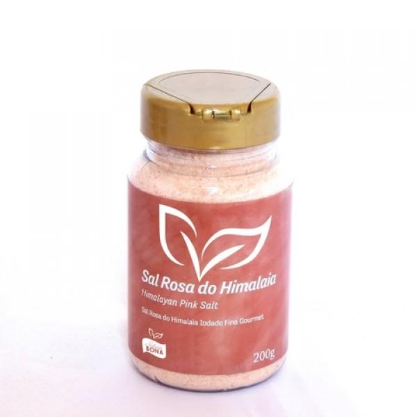 Sal Rosa do Himalaia Iodado Fino Gourmet Pote 200g