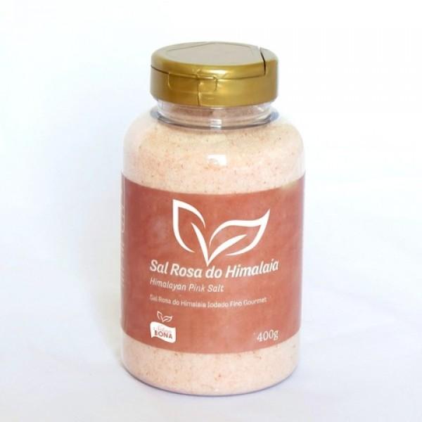Sal Rosa do Himalaia Iodado Fino Gourmet Pote 400g