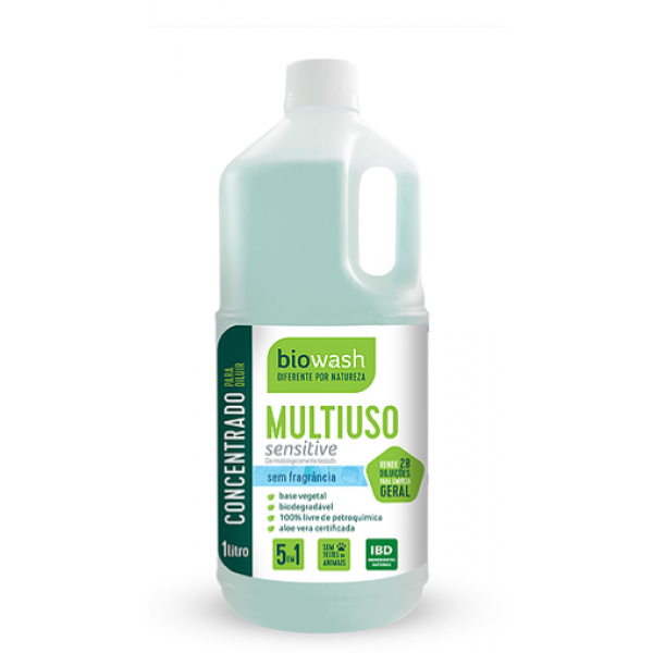 Multiuso concentrado sensitive 1 litro Biowash
