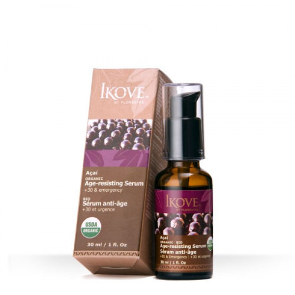 Serum Facial Anti-idade de Açaí 30ml (IKOVE)