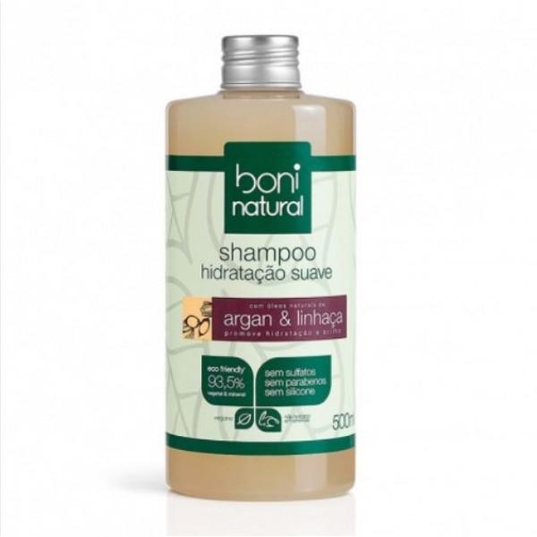 Shampoo Argan e Linhaça