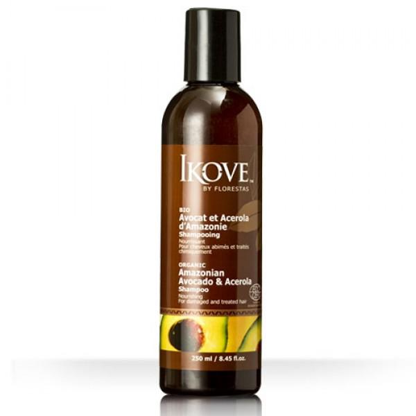 Shampoo de Abacate e Acerola 250ml (IKOVE)