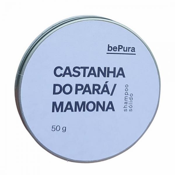 Shampoo sólido Castanha do Pará/Mamona