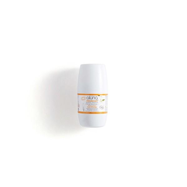 Desodorante  Rollon Natural sem alumínio Flor de Laranjeiras osma 50ml - Original Eco