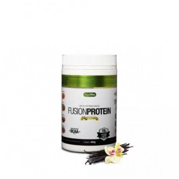 Suplemento Proteico Natural e Vegano VeganWay Fusion Protein Baunilha 450g