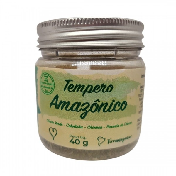 Tempero Amazonico – 40 g – Terramazonia