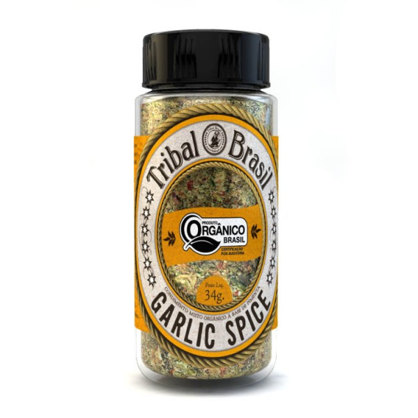 Tempero Tribal Brasil - Garlic Spice - Condimento Misto