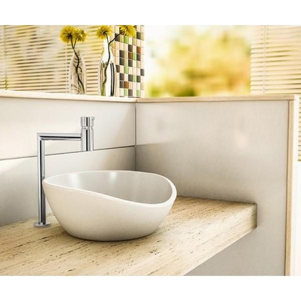 Torneira para lavatório de mesa bica alta Lóggica Flex