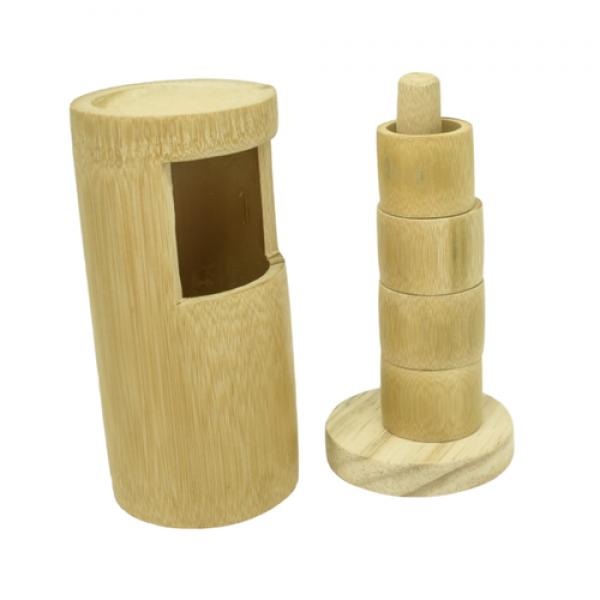 Torre de Argolas de Bambu Tao Bambu