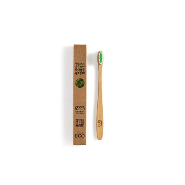 Escova Dental Sustentável de Bambu - Original Eco