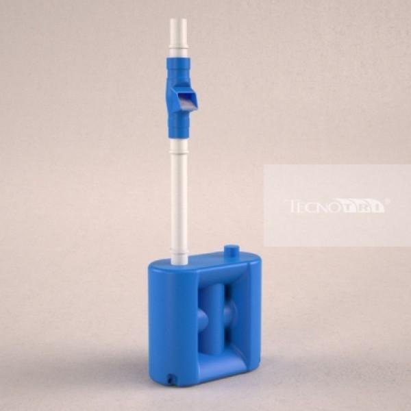 Cisterna Vertical Modular 65 Litros Com Filtro