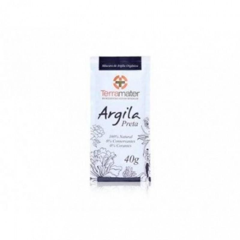 Argila Preta Desintoxicante Terramater 40 g