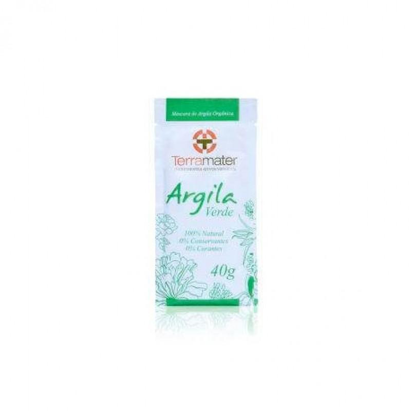 Argila orgânica verde antioleosidade