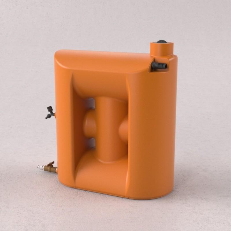 Cisterna 150 litros laranja